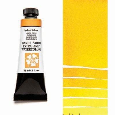 Indian Yellow 15ml Tube – DANIEL SMITH Extra Fine Watercolour