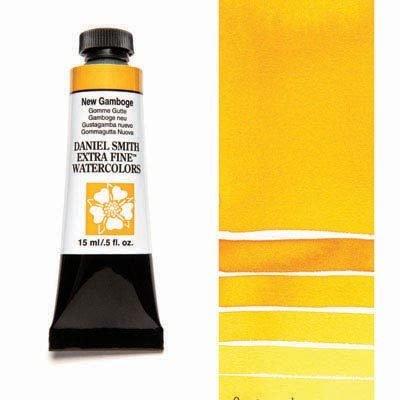 New Gamboge 15ml Tube – DANIEL SMITH Extra Fine Watercolour