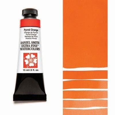 Pyrrol Orange 15ml Tube – DANIEL SMITH Extra Fine Watercolour