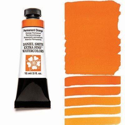 Permanent Orange 15ml Tube – DANIEL SMITH Extra Fine Watercolour