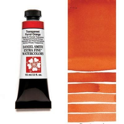 Transparent Pyrrol Orange 15ml Tube – DANIEL SMITH Extra Fine Watercolour