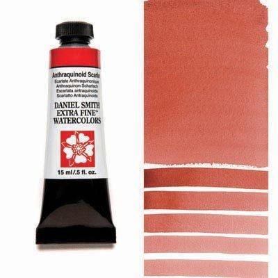 Anthraquinoid Scarlet 15ml Tube – DANIEL SMITH Extra Fine Watercolour