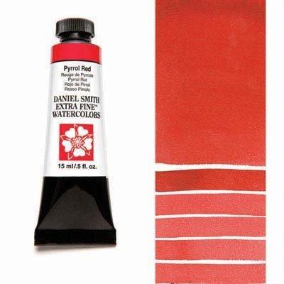 Pyrrol Red 15ml Tube – DANIEL SMITH Extra Fine Watercolour