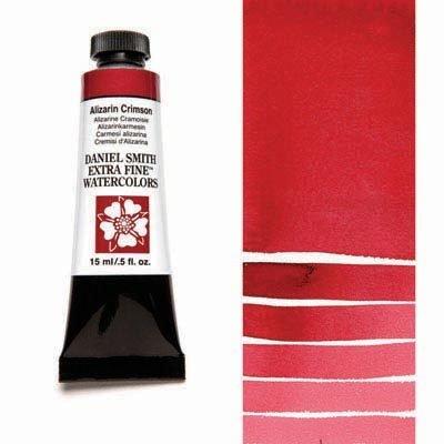 Alizarin Crimson 15ml Tube – DANIEL SMITH Extra Fine Watercolour