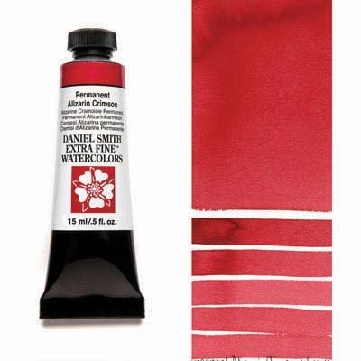 Permanent Alizarin Crimson 15ml Tube – DANIEL SMITH Extra Fine Watercolour