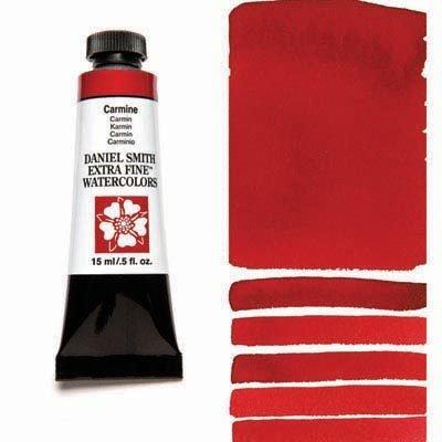 Carmine 15ml Tube – DANIEL SMITH Extra Fine Watercolour