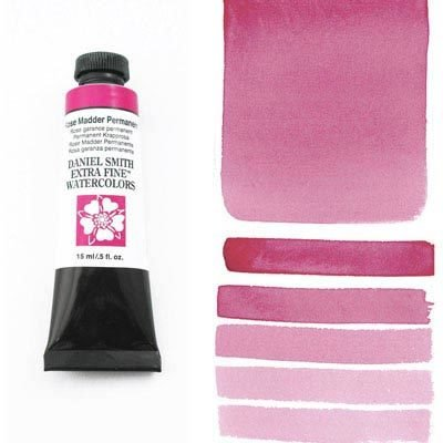 Rose Madder Permanent 15ml Tube – DANIEL SMITH Extra Fine Watercolour
