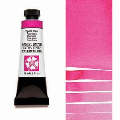 Opera-Pink 15ml Tube – DANIEL SMITH Extra Fine Watercolour