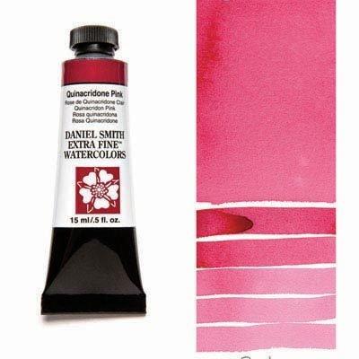 Quinacridone Pink 15ml Tube – DANIEL SMITH Extra Fine Watercolour
