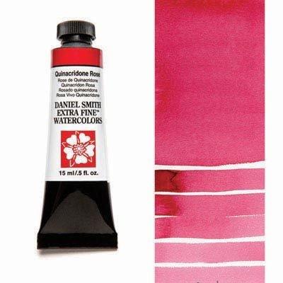 Quinacridone Rose 15ml Tube – DANIEL SMITH Extra Fine Watercolour