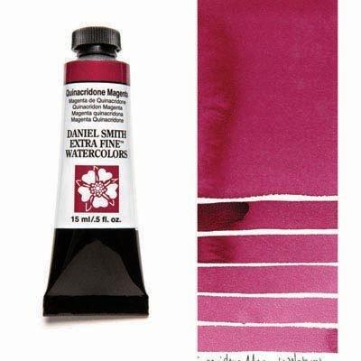 Quinacridone Magenta 15ml Tube – DANIEL SMITH Extra Fine Watercolour