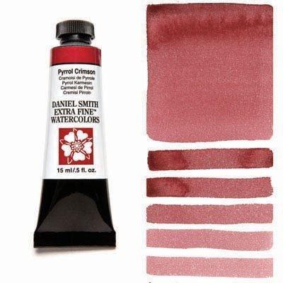 Pyrrol Crimson 15ml Tube – DANIEL SMITH Extra Fine Watercolour