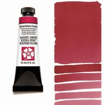 Quinacridone Fuchsia 15ml Tube – DANIEL SMITH Extra Fine Watercolour