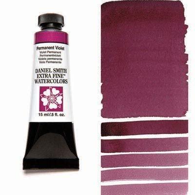 Permanent Violet 15ml Tube – DANIEL SMITH Extra Fine Watercolour