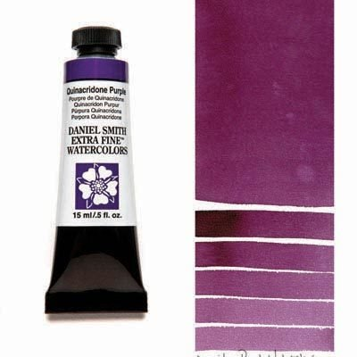 Quinacridone Purple 15ml Tube – DANIEL SMITH Extra Fine Watercolour