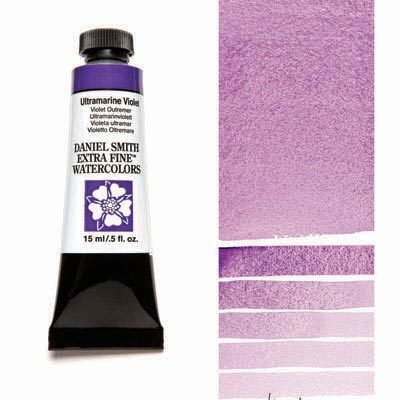 Ultramarine Violet 15ml Tube – DANIEL SMITH Extra Fine Watercolour