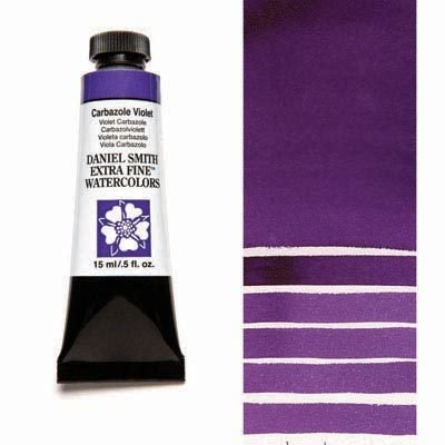 Carbazole Violet 15ml Tube – DANIEL SMITH Extra Fine Watercolour