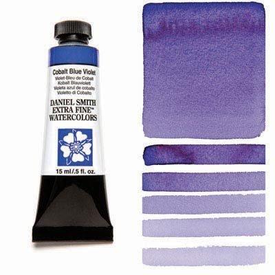 Cobalt Blue Violet 15ml Tube – DANIEL SMITH Extra Fine Watercolour