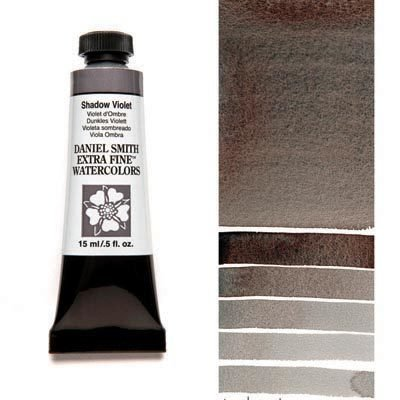 Shadow Violet 15ml Tube – DANIEL SMITH Extra Fine Watercolour