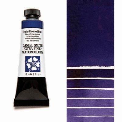 Indanthrone Blue 15ml Tube – DANIEL SMITH Extra Fine Watercolour