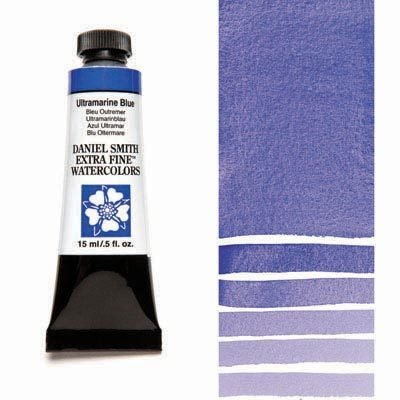 Ultramarine Blue 15ml Tube – DANIEL SMITH Extra Fine Watercolour