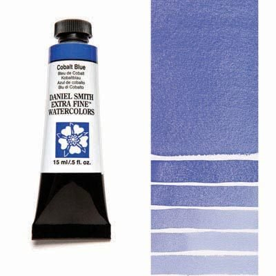 Cobalt Blue 15ml Tube – DANIEL SMITH Extra Fine Watercolour