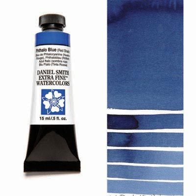 Phthalo Blue RS 15ml Tube – DANIEL SMITH Extra Fine Watercolour