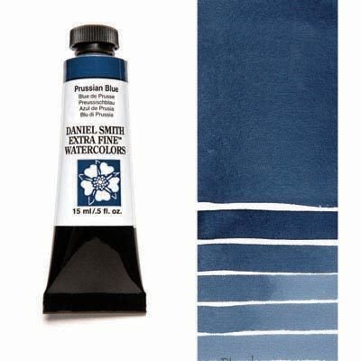 Prussian Blue 15ml Tube – DANIEL SMITH Extra Fine Watercolour