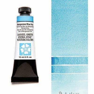 Manganese Blue Hue 15ml Tube – DANIEL SMITH Extra Fine Watercolour