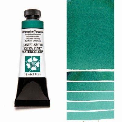 Ultramarine Turquoise 15ml Tube – DANIEL SMITH Extra Fine Watercolour