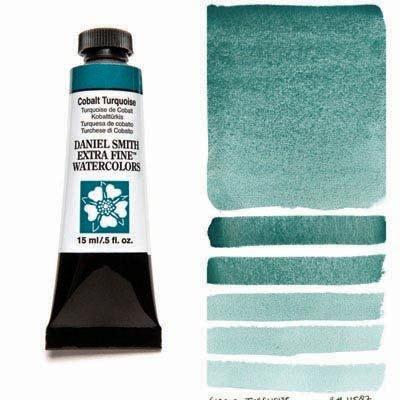 Cobalt Turquoise 15ml Tube – DANIEL SMITH Extra Fine Watercolour