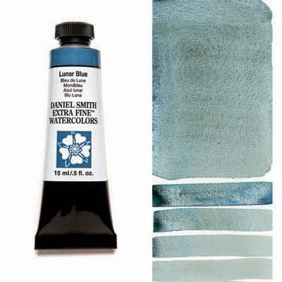 Lunar Blue 15ml Tube – DANIEL SMITH Extra Fine Watercolour