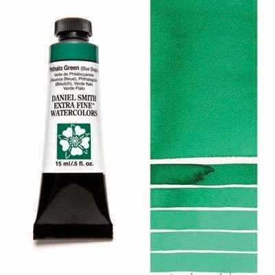 Phthalo Green BS 15ml Tube – DANIEL SMITH Extra Fine Watercolour