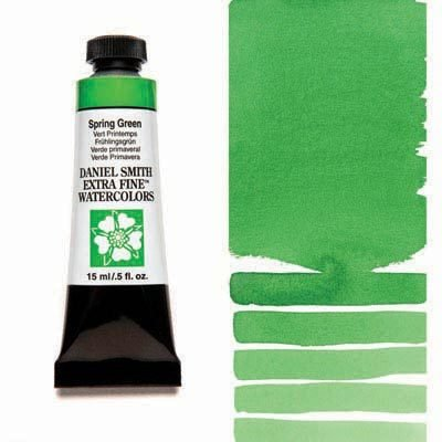 Spring Green 15ml Tube – DANIEL SMITH Extra Fine Watercolour