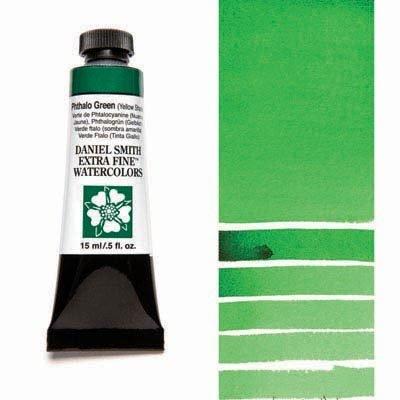 Phthalo Green YS 15ml Tube – DANIEL SMITH Extra Fine Watercolour