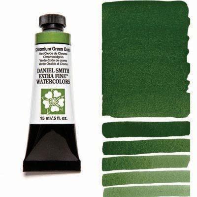 Chromium Green Oxide 15ml Tube – DANIEL SMITH Extra Fine Watercolour