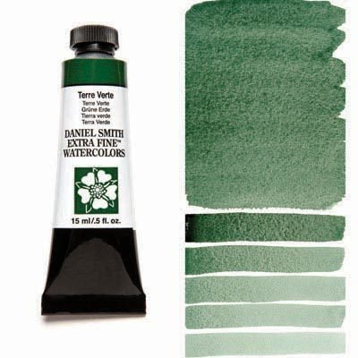 Terre Verte 15ml Tube – DANIEL SMITH Extra Fine Watercolour
