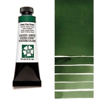 Deep Sap Green 15ml Tube – DANIEL SMITH Extra Fine Watercolour