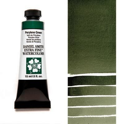 Perylene Green 15ml Tube – DANIEL SMITH Extra Fine Watercolour
