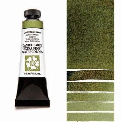 Undersea Green 15ml Tube – DANIEL SMITH Extra Fine Watercolour