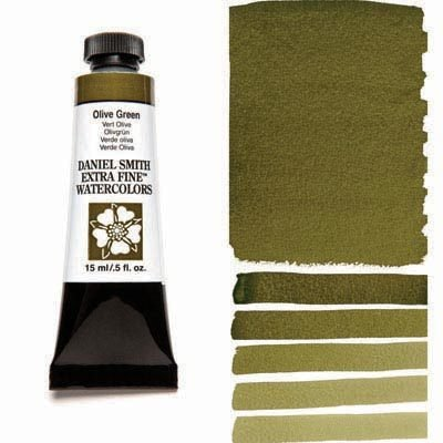 Olive Green 15ml Tube – DANIEL SMITH Extra Fine Watercolour