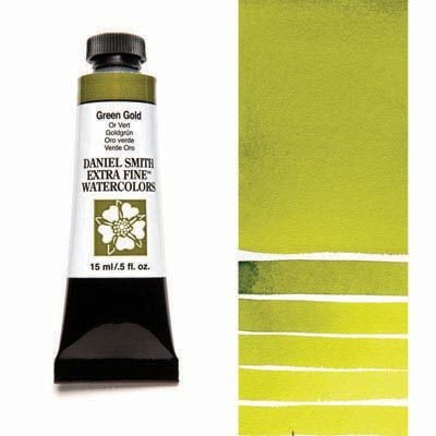 Green Gold 15ml Tube – DANIEL SMITH Extra Fine Watercolour