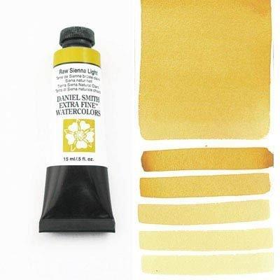 Raw Sienna Light 15ml Tube – DANIEL SMITH Extra Fine Watercolour