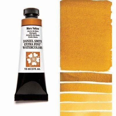 Mars Yellow 15ml Tube – DANIEL SMITH Extra Fine Watercolour