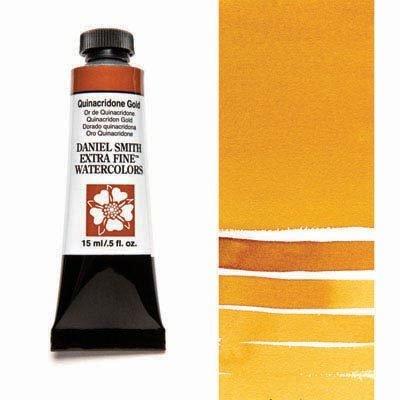 Quinacridone Gold 15ml Tube – DANIEL SMITH Extra Fine Watercolour