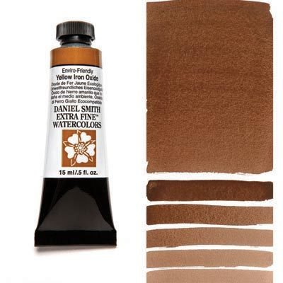 Enviro-Friendly Yellow Iron Oxide 15ml Tube – DANIEL SMITH Extra Fine Watercolour