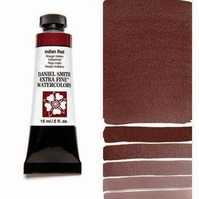 Indian Red 15ml Tube – DANIEL SMITH Extra Fine Watercolour