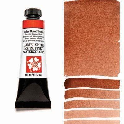 Italian Burnt Sienna 15ml Tube – DANIEL SMITH Extra Fine Watercolour