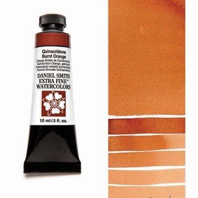 Quinacridone Burnt Orange 15ml Tube – DANIEL SMITH Extra Fine Watercolour