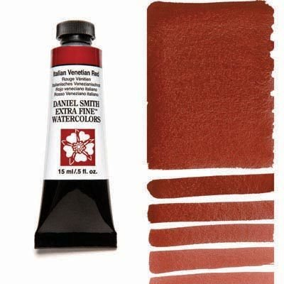 Italian Venetian Red 15ml Tube – DANIEL SMITH Extra Fine Watercolour